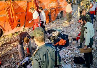 آخرین آمار فوت شدگان سانحه واژگونی اتوبوس اردوی راهیان نور
