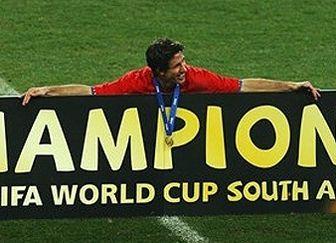 ۳۰میلیون یورو پاداش تیم ملی اسپانیا برای قهرمانی