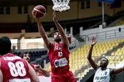 برد تیمملی بسکتبال مقابل عربستان در انتخابی کاپ آسیا