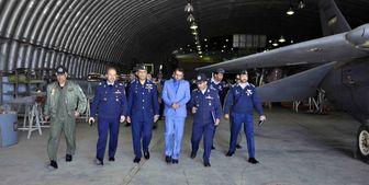 هیئت نظامی پاکستان از پایگاه هوایی شهید  بابایی بازدید کرد