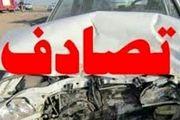 مصدومیت ۲۱  نفر بر اثر تصادف زنجیره ای در محور تهران- زنجان