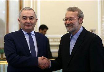 وزیر خارجه رومانی با لاریجانی دیدار کرد