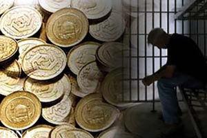 افزایش زندانیان مهریه در پی افزایش قیمت سکه