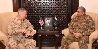 رایزنی ژنرال آمریکایی با فرمانده ارتش پاکستان