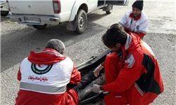 امدادرسانی به ۱۳۵ نفر در ۵ استان متأثر از برف و کولاک