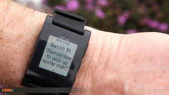 ساعت هوشمند با قابلیت نمایش پیامک تلفن همراه