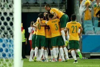 خلاصه بازی استرالیا ۴-۰ عمان