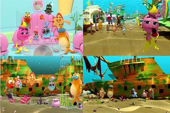 ساخت سری جدید انیمیشن «ماهی بادکنکی»