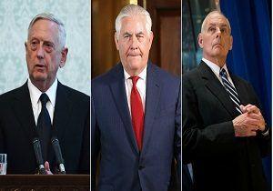 پیمان خودکشی سه مقام ارشد دولت ترامپ!