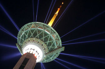 برج میلاد تهران میزبان الجزایریها شد