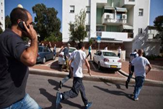 وحشت صهیونیستها پس از شنیده شدن صدای آژیر در تل آویو