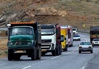 برخورد با تخلفات کامیونها در ۴۶ نقطه از تهران