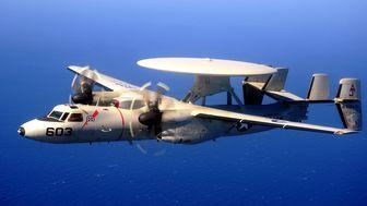 نقص فنی سبب سقوط هواپیمای نیروی دریایی آمریکا شد