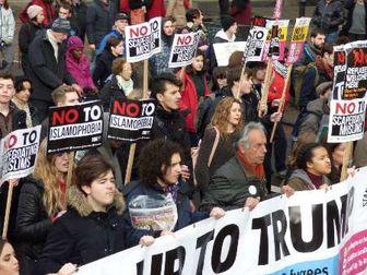 لندنی ها به خیابان ریختند