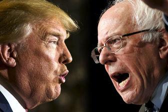 برتری «ترامپ» و «ساندرز» در انتخابات مقدماتی