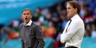 انتقاد کونته از تیم ملی اسپانیا