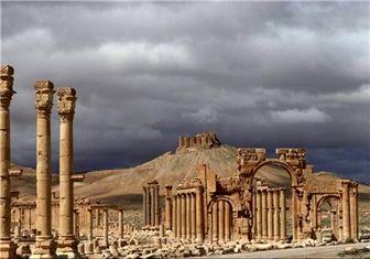 تخریب معبد باستانی توسط داعش + تصاویر