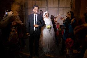 ازدواج زوج کارتنخواب در مرکز مهر + عکس
