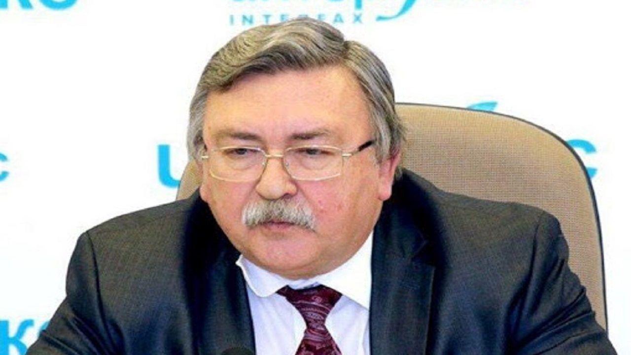 اولیانوف: روسیه برای رفع تنش ها در برنامه هسته ای ایران تلاش می کند