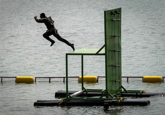 تیم غواصی ارتش در آستانه قهرمانی مسابقات ارتشهای جهان