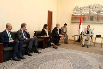 دیدار رئیس شورای عالی سیاسی یمن با سفرای فرانسه و هلند