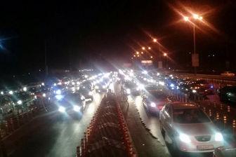 ترافیک سنگین در مسیرهای شمال کشور در پی وقوع زلزله تهران