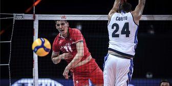 درخشش کاظمی مقابل ایتالیا