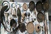 کشف اشیای تاریخی 3 هزارساله در کردستان