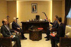 رایزنی ولید المعلم با سفیر ونزوئلا در سوریه