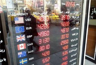 کاهش ارزش ۲۱ ارز در بازار