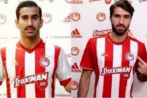 حاج صفی و انصاری فرد در ترکیب المپیاکوس در لیگ اروپا