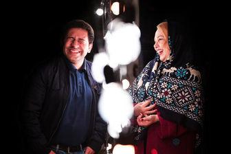 ایرانگردی بهنوش بختیاری و سروش جمشیدی در «شب»