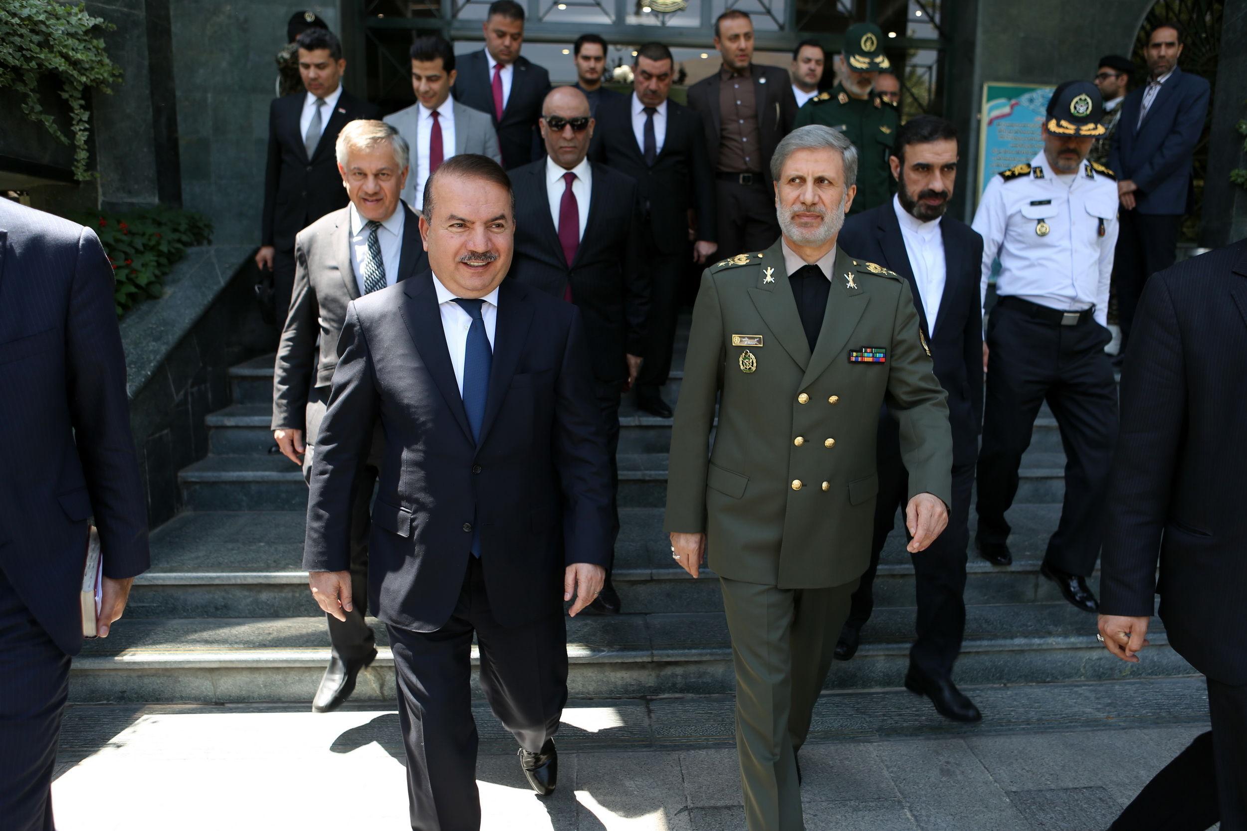 تقویت بنیه دفاعی عراق از راهبردهای اصلی جمهوری اسلامی ایران است