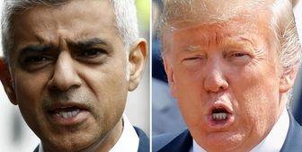 ترامپ: شهردار بیکفایت لندن در امور ما دخالت نکند