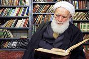 پیکر آیتلله مرتضی تهرانی تشییع شد