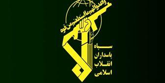 آتش سوزی در یکی از مراکز تحقیقات خودکفایی سپاه در غرب تهران