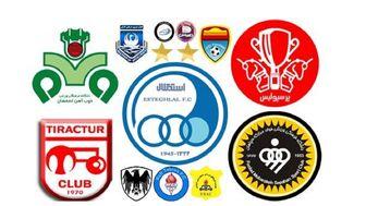 تیمهای فوتبال ایرانی در رده دوم ارزشمندترین تیمهای آسیا