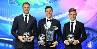 درو کردن جوایز فوتبال اروپا توسط مونیخی ها