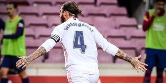 راموس با رئال مادرید تمدید می کند؟