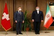 دیدار وزیر خارجه سوئیس با ظریف