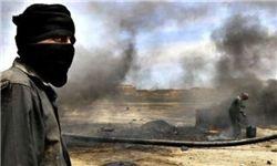 آتش داعش به چاه های نفتی عراق + تصاویر