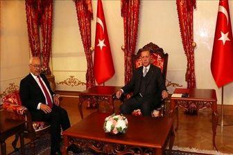 دیدار غیر علنی اردوغان با راشد الغنوشی در استانبول