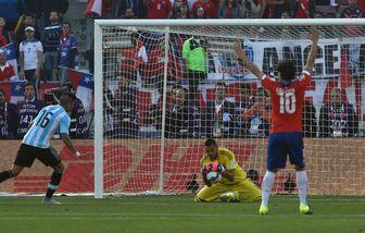 آرژانتین بازهم از گرفتن جام باز ماند