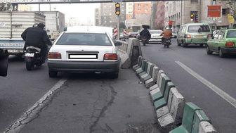 علت ترافیک صبح امروز اتوبان شهید نواب