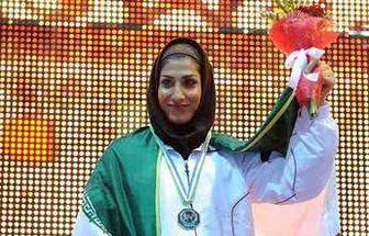 مدال طلای دختر لژیونر ایرانی برای تیم کویتی