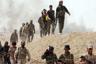 حمله خمپارهای داعش به نیروهای حشد الشعبی در مرز عراق و سوریه