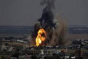 ارتش رژیم صهیونیستی غزه را بمباران کرد