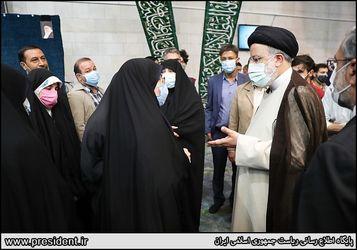رئیسی در دانشگاه تهران