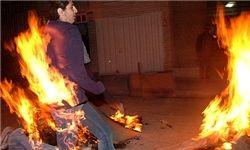 ۲نفر در آتش سوختند