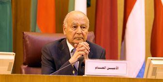 ابراز نگرانی دبیر کل اتحادیه عرب در خصوص حوادث عراق
